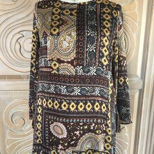 Romeo & Juliet Mini Boho Style Dress. Size M. NWT